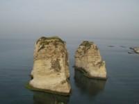 Pigeons rocks - Beirut