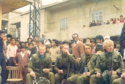 De frste norske soldatene i Chebaa 1978