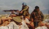 Norsk og israelsk soldat i Libanon 1978