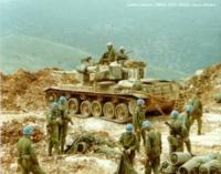 Norske soldater inn - israelske soldater ut.  Libanon 1978